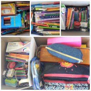 Stationary Donations from Wynberg Boys Junior School