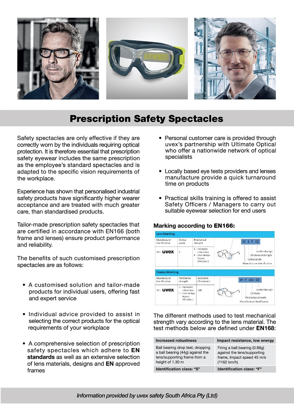 Prescription Safety Eyewear